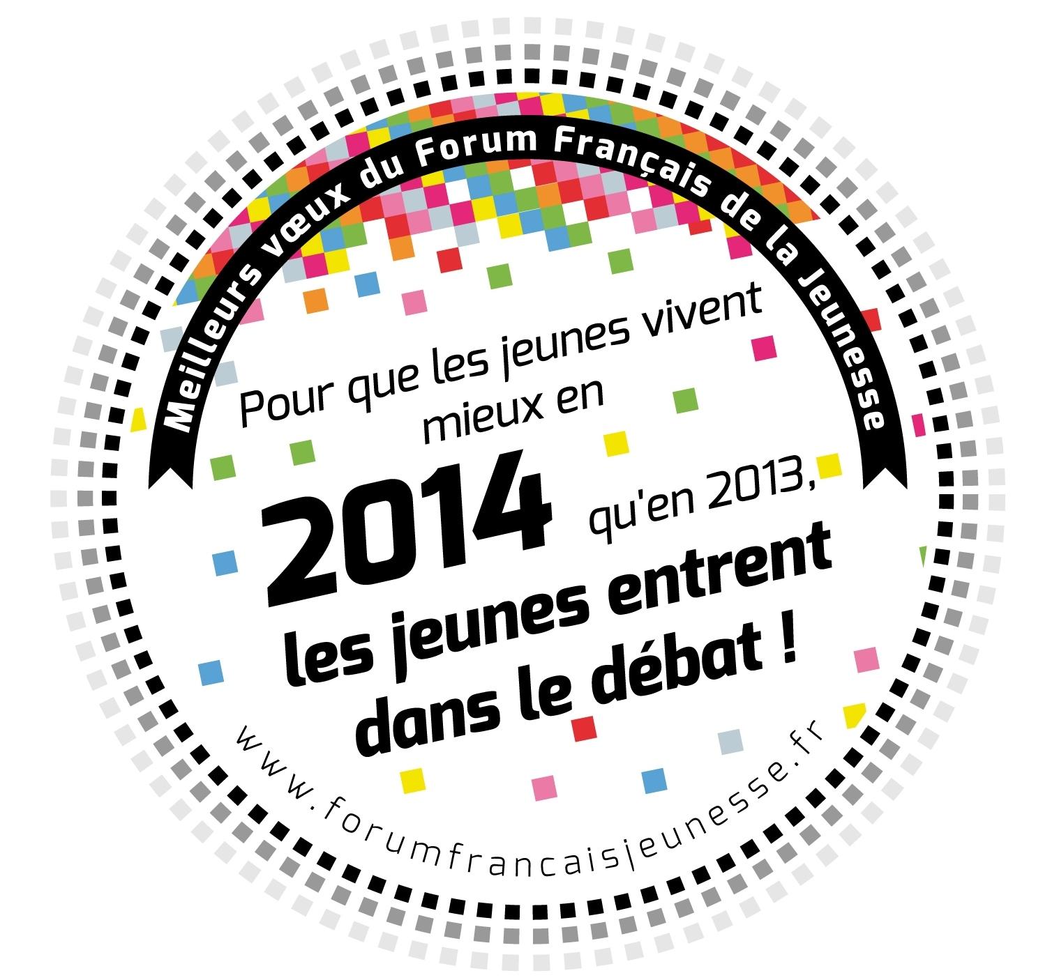 Vœux du Forum Français de la Jeunesse