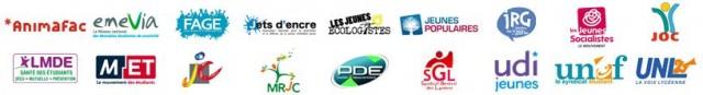Organisations membres du FFJ